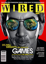Portada de Wired 190. Jose María Aznar o el genial Will Wright